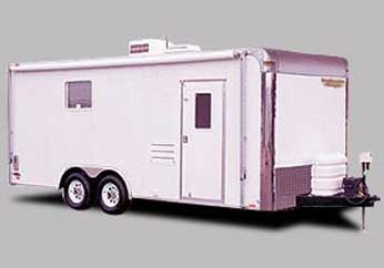 Continental Cargo Motorcycle Trailer with Living Quarters