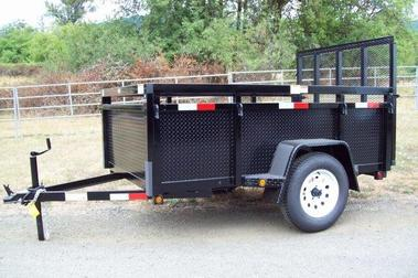 Fabform Deluxe Box Utility Trailer with Ramp – Gorge Trailers
