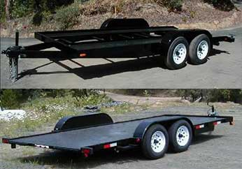 Fabform Economy Car Trailer