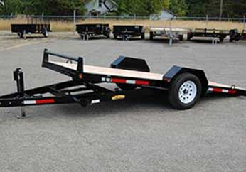Great Northern Total Tilt Single Axle Trailer