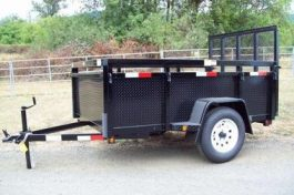 Fabform Deluxe Box Utility Trailer with Ramp